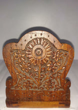 Load image into Gallery viewer, Saharanpur Wood Carving Book Ends