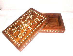 Wooden Box (Inlay Work) 6x1.5in