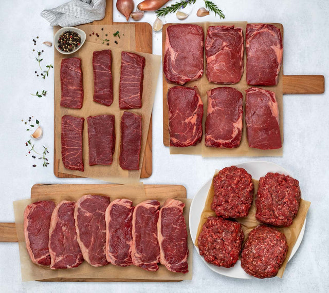 100% Grass-fed Beef Bundle