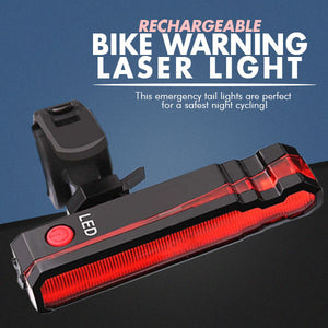 Rechargeable Bike Warning Night Lamp