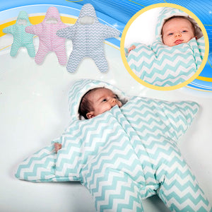 Cozy&Comfy Starfish Baby Sleeping Sack