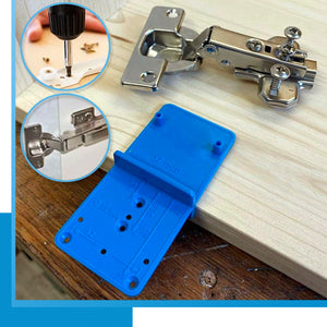 Quick Hinge Hole Marking Jig