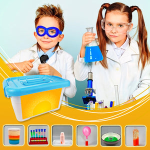 BrainWHIZZ Kid's Science Experiment Kit