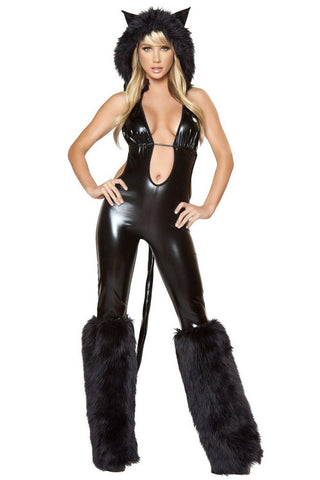 ATOMIC BLACK CATSUIT COSTUME