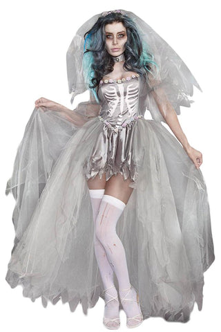 ATOMIC GHASTLY BRIDE OF DOOM COSTUME