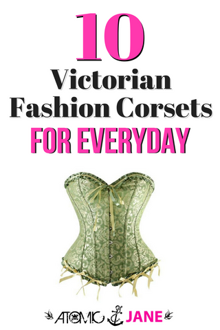 Victorian Fashion Corsets for Everyday