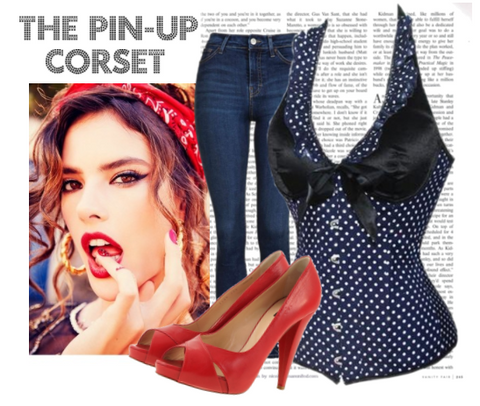 Pin-Up Corset Pin-Up Fashion
