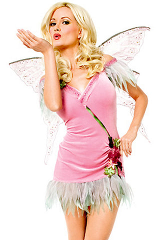 Pink Forest Fairy Costume