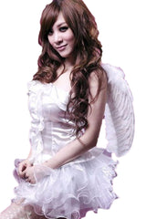 White Ruffled Angel Costume