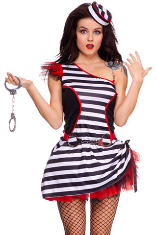 Jail House Jane Costume
