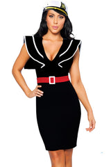 Black Ahoy There Sailor Costume
