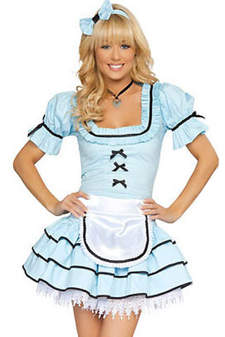 Blue Alice Kingsleigh Inspired Costume