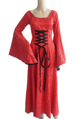 Red Victorian Dress Ball