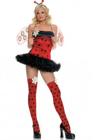 Red and Black Ladybug Costume