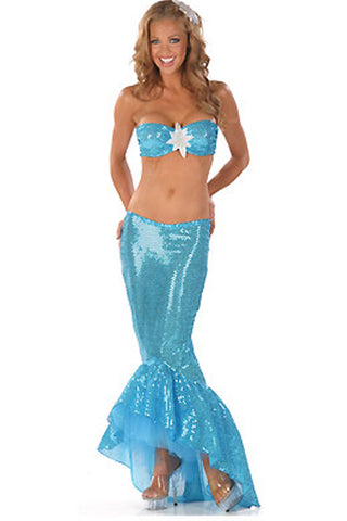 Turquoise Mermaid Costume