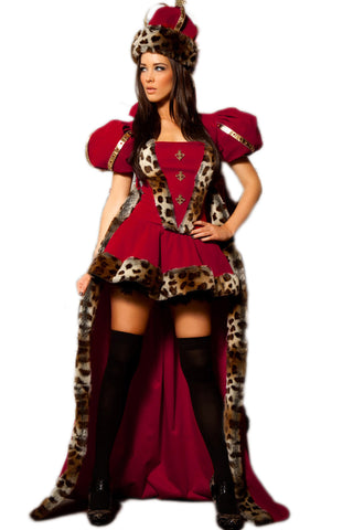 Red Regal Queen Deluxe Costume