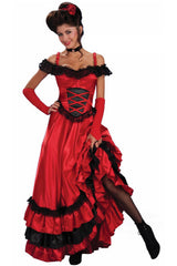 Red Spanish Seduction Costume