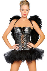 Black and Silver Angel Costume