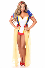 Premium Lavish Snow White Inspired Four Piece Costume