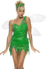 Green Sequined Pixie Costume