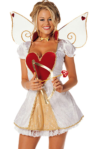 White Cupid Costume
