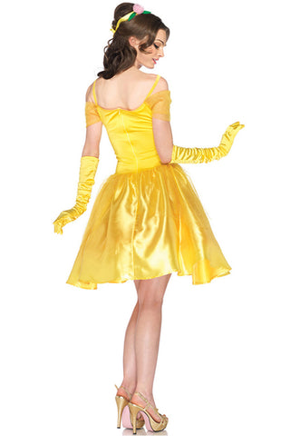 Yellow Princess Belle Inspired Costume