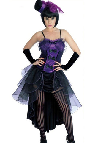 Purple Burlesque Babe Costume