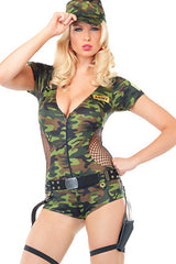 Boot Camp Babe Costume