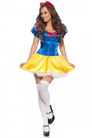 Snow White Inspired Mini Dress