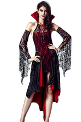 Black and Red Vampire Vixen Costume