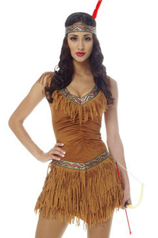 Native American Inspired Costume