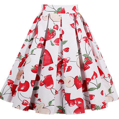 Apple and Strawberry Skirt
