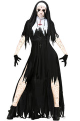 Dark Sinister Nun Costume