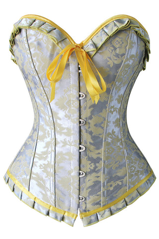 Silver Screen Overbust Corset