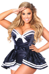 Navy Sailor Corset Costume