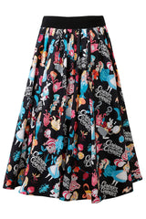 Black Alice Rockabilly Skirt
