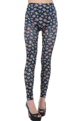 Atomic Small Floral Print Leggings