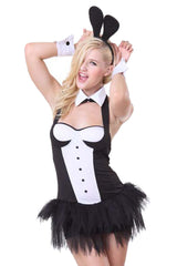 Black and White Tux Bunny Costume