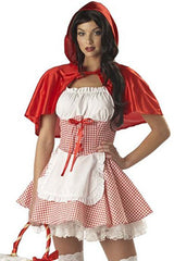 Plaid Red Riding Hood Inspired Costume