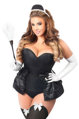 Lavish Premium Frisky French Maid Corset Costume