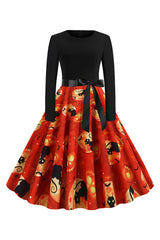 Lantern Cat Party Dress
