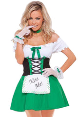 Atomic Green Kiss Me Maid Costume