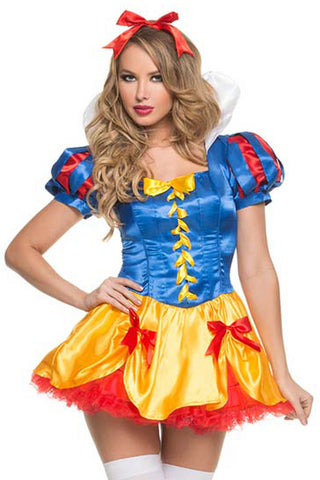 Sweet Snow White Inspired Costume