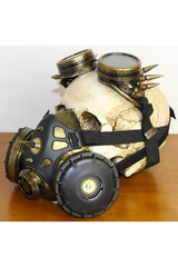 Golden Steampunk Anti-Haze Gas Mask