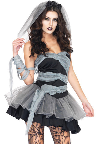 Dead and Buried Bride Costume