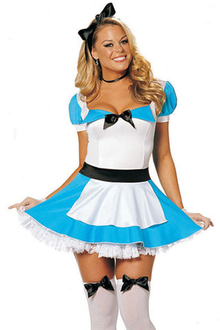 Blue and White Pretty Alice Inspired Costume