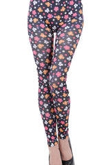 Flower and Butterfly Leggings