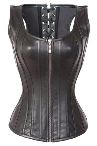 Atomic Ride With the Wind Black Corset