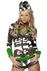 Green Fever Combat Costume