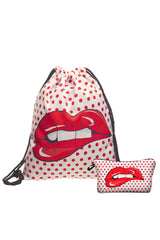 Polka Dot Lip Bag Combo
